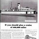 "1942 B F Goodrich Bearings Ad- Great Photo f Ferryboat ""Del- Mar- Va"""