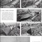 1942 WW II Defoe Shipbuilding Co Ad- Great Photos of 173' PC Boat Rolling Over