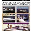 1995 Commander Boats Color Ad- Photos of 5 Models