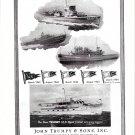 1945 WW II John Trumpy War Boats Ad- Nive Photo SC1075- PTC48- YTB225