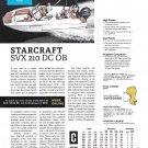 2021 Starcraft SVX 210 DC OB Boat Review- Photo & Boat Specs
