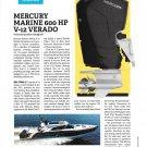 2021 Mercury Marine 600 HP V-12 Verado Outboard Motor Review- Photos & Specs