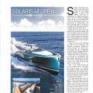 2021 Solaris 48 Open Boat Review- Nice Photos & Boat Specs