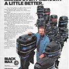 1976 Mercury Black Max Outboard Motors Color Ad- Nice Photo