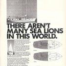 1970 Bristol Sea Lion 39' Yacht Ad- Boat Specs Photo & Drawing