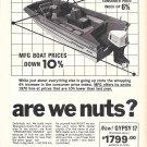 1970 MFG Boat Company Ad- Nice Photo of New Gypsy 17