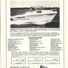 1975 Drummond 223-V Raised Cabin Boat Ad- Nice Photo