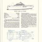 1975 Steury 25' Sporty Deep- V Boat Ad- Boat Specs & Drawings