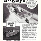 1975 Kingston 1800 Runabout Boat Ad- Nice Photo & Boat Specs