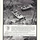 1969 Crestliner Boats Ad- Nice Photo of Muskie 17 & Muskie 15