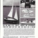1969 Kenner Kittiwake 23 Sailing Yacht Ad- Boat Specs & Nice Photo