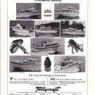 1969 Tollycraft Boats Ad- Photos of 8 Models- Hot Girl