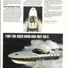 Old Magnum Marine 45' Cruiser Yacht Color Ad- Nice Photo