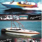 2003 Dana Performance Boats Color Ad- Nice Photo of Offshore 27' & Open Bow 23'