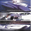 2003 Ultra Custom Boats Color Ad- Nice Photos of 27 Shadow