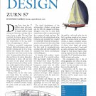 2002 Zurn 57 Yacht Review- Drawing & Boat Specs