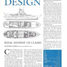 2002 Royal Denship 125 Classic Yacht Review- Drawing & Boat Specs