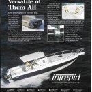 2002 Intrepid 366 Yacht Color Ad- Nice Photo