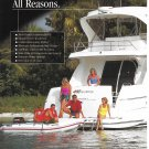 2002 Silverton 410 Sport Bridge Yacht 2 Page Color Ad- Nice Photo