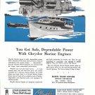 1946 Chrysler Marine Engines Ad- Drawing