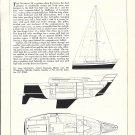 1976 Grampian Marine LTD 28 Cruiser- Racer BoatAd- Boat Specs & Drawings
