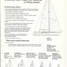 1976 Nautor Swan 431 Yacht Ad- Boat Specs & Drawing