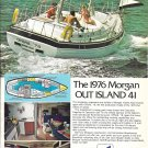 1976 Morgan Out Island 41 Yacht Color Ad- Nice Photos