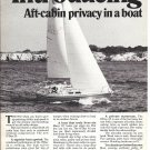 1976 O'Day 32 Yacht 2 Page Ad- Nice Photo