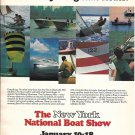 1976 The New York National Boat Shoe Color Ad- Nice Photos