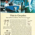 1976 Chrysler Marine 6 HP Outboard Motors Color Ad- Nice Photo