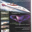 2002 Cobra Performance Boats Color Ad- Nice Photo of 270 Razor & 5 Other Models