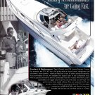 1995 Donzi Marine 275 Luxury Express Cruiser Boat 2 Page Color Ad- Nice Photos