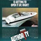 1995 Wellcraft Marine Sportboat Color Ad- Nice Photo