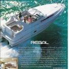 1995 Regal Commodore 292 Boat Color Ad- Nice Photo