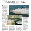 1995 Celebrity 258 Sport Cruiser Boat Review- Nice Photo