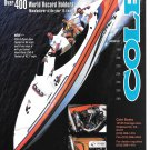 2001 Cole 250- S Open Bow Boat Color Ad- Nice Photo- Hot Girls