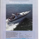 1986 Cruisers Cruiser Boat Color Ad- Nice Photo