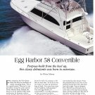 1997 Egg Harbor 58 Convertible Yacht Review- Nice Photos & Boat Specs