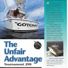 1997 Luhrs Tournament 290 Yacht Color Ad- Nice Photo