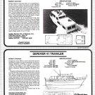 1984 Defever 41 & Coastal Barracuda 39 New Boats Ad-Boat Specs & Photo & Drawing