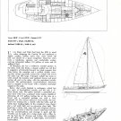1973 Holland Yachts Contrst 38 Cruiser Boat Ad- Boat Specs & drawings