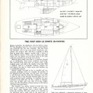 1971 Le Comte 35' Yacht Ad- Boat Specs & drawing
