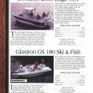 1997 Glastron 180-Crestliner 2360-& 2050- Viking 72 Yachts 2 Pg Ad-Boat S[ecs & Photo