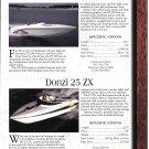 1997 Donzi 25 ZX-Checkmate ZT-280-Stingray 220SX-Formula 312 Boats 2 Pg Ad-Boat Specs & Photo