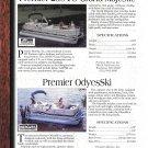 1997 Premier 250 & OdyesSki-Kayot 24- Manitou 24 Pontoon Boats 2 Pg Ad-Boat Specs & Photo