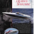 1997 Donzi Marine Donzi 27 ZX Boat 2 Pg Color Ad-Nice Photo of Donzi Airborne