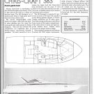 1986 Chris- Craft 383 Yacht Review- Boat Specs & Drawing