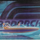 1982 Radarch Bowrider Boat Color Ad- Nice Drawing