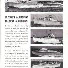 1962 Huckins Yacht Corp Ad- Nice Photo of 6 Models