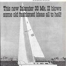 1970 Islander 30 Mk II Yacht Ad- Nice Photo